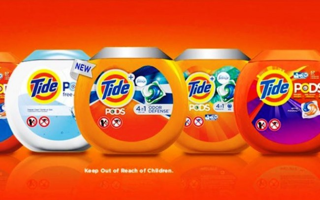 tide pod collection